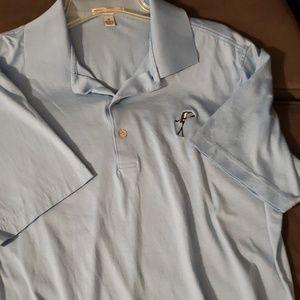 Peter Millar short sleeved shirt size M